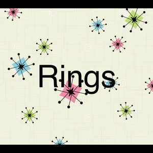 Rings- contemporary and vintage